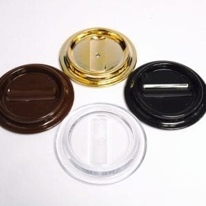 Lucite Caster Cups