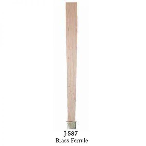 J-587 Brass Ferrule