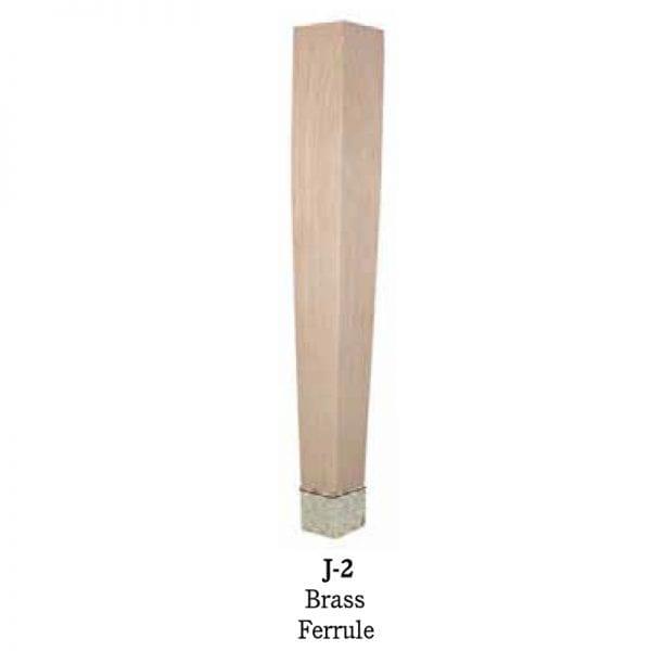 J2 Brass Ferrule