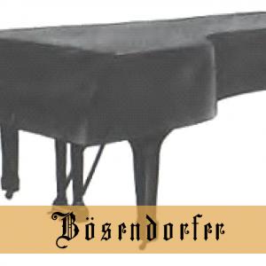 Boesendorfer Grand Piano Cover