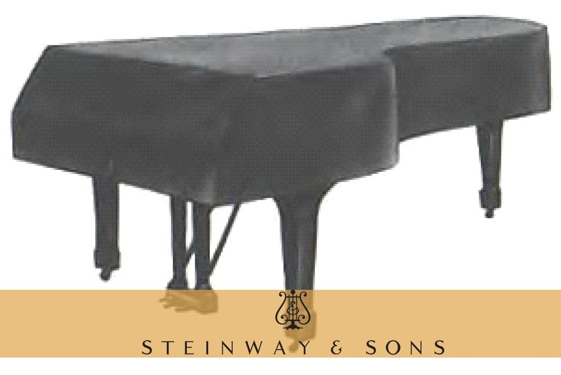"For 6/'11/"" Steinway Model /""B/"" Black Steinway Mackintosh Grand Piano Cover"