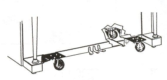 J4010 Heavy Duty Upright Dollies